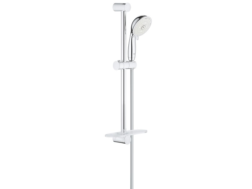 Shower wallbar with hand shower with hose with soap dish NEW TEMPESTA RUSTIC 27609001 | Shower wallbar by Grohe