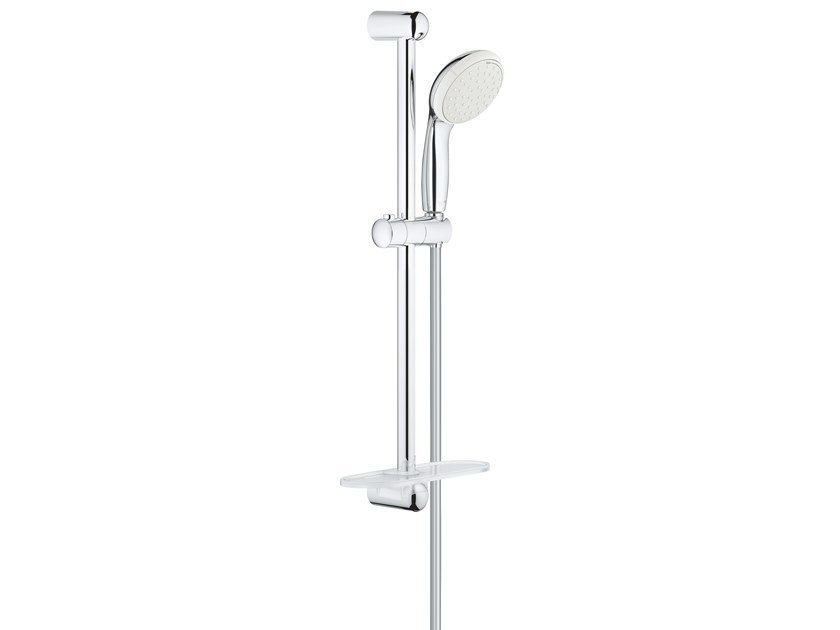 Shower wallbar with hand shower with hose with soap dish NEW TEMPESTA CLASSIC 27926001 | Shower wallbar by Grohe