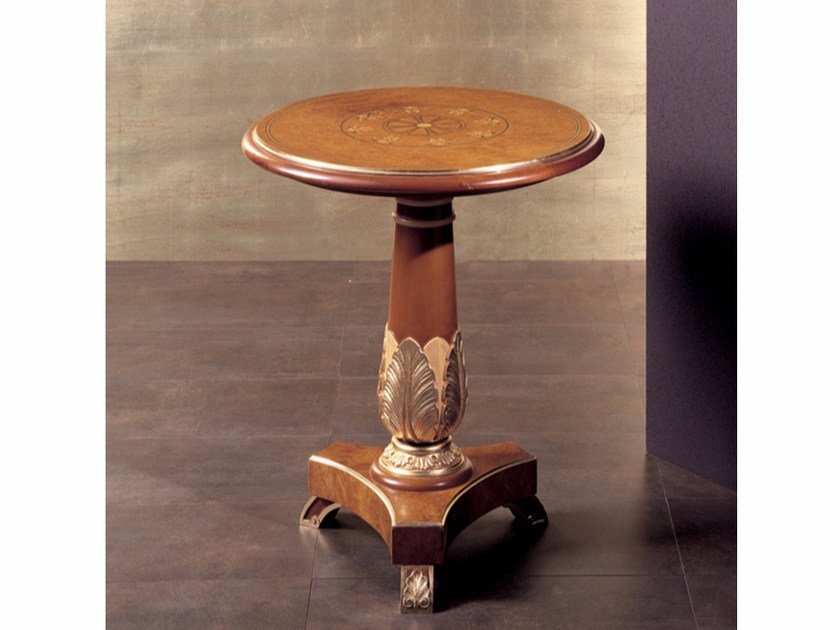 Round high side table for living room 284   Coffee table by Rozzoni