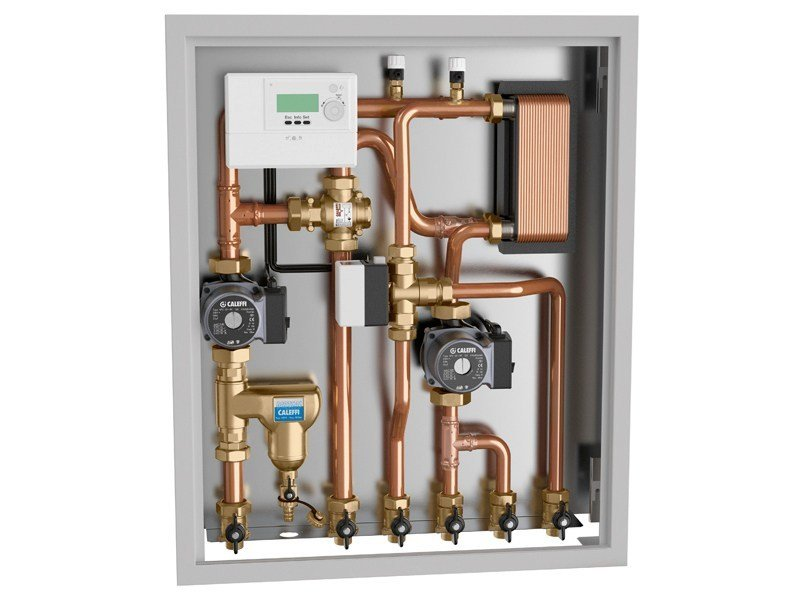Zone module and collector 2851 Energy management unit by CALEFFI