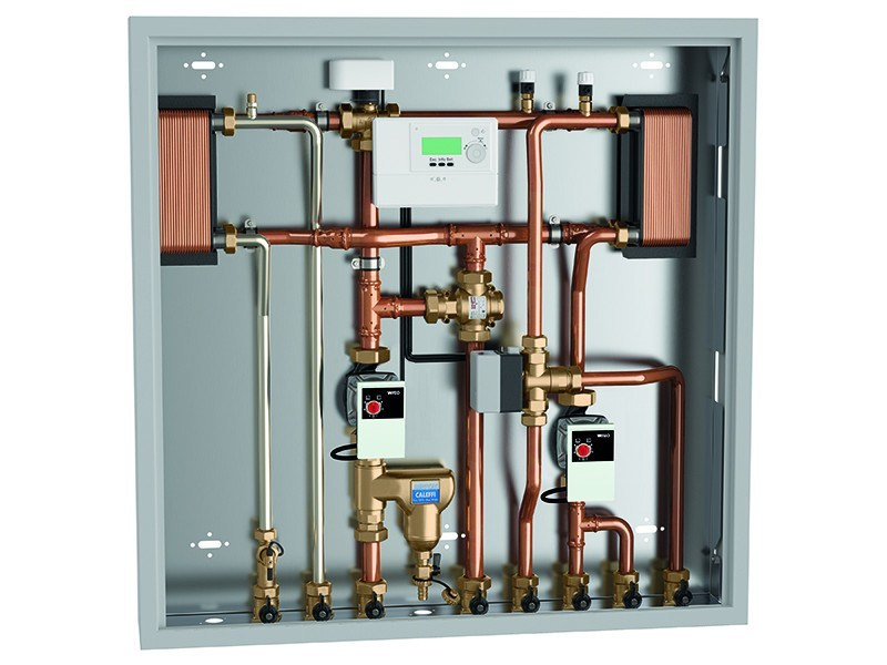 Zone module and collector 2855 Energy management unit by CALEFFI