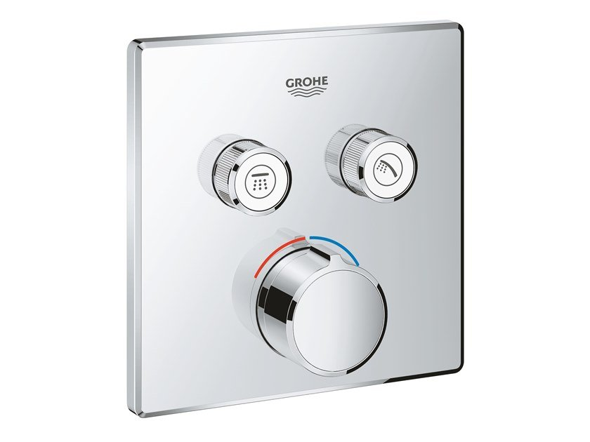 Shower mixer with plate SMARTCONTROL 29148000 | Shower mixer by Grohe