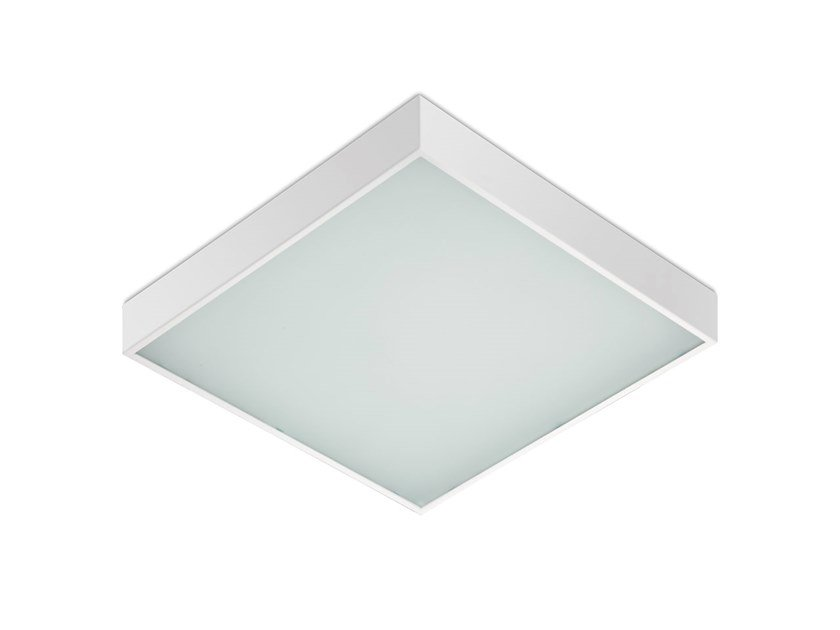 LED direct light steel ceiling light 295-595 2080 MP by Metalmek