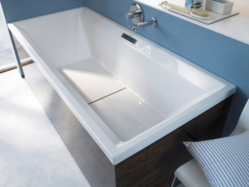 Vasca Da Bagno Da Incasso : Vasca da bagno rettangolare in acrilico da incasso nd floor