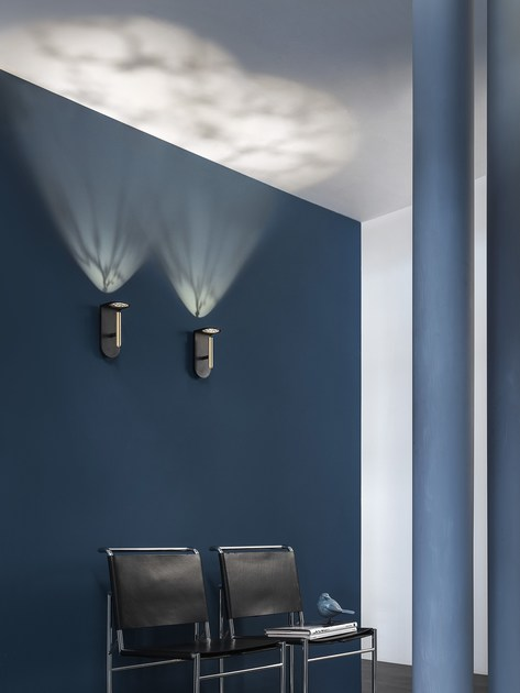 Led direct indirect light aluminium wall light 2nights w1 by linea light group design davide oppizzi