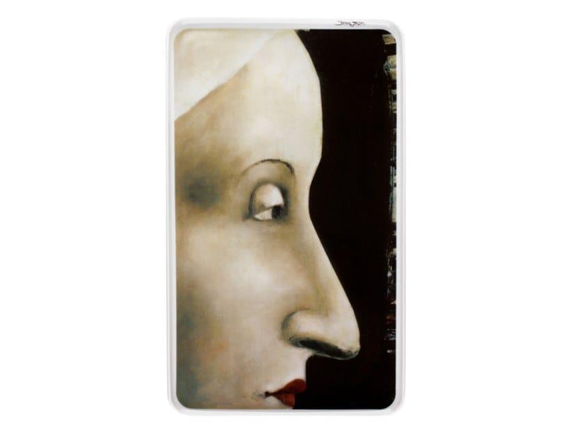 Porcelain plate 2i - by Susanne Janssen by Vista Alegre