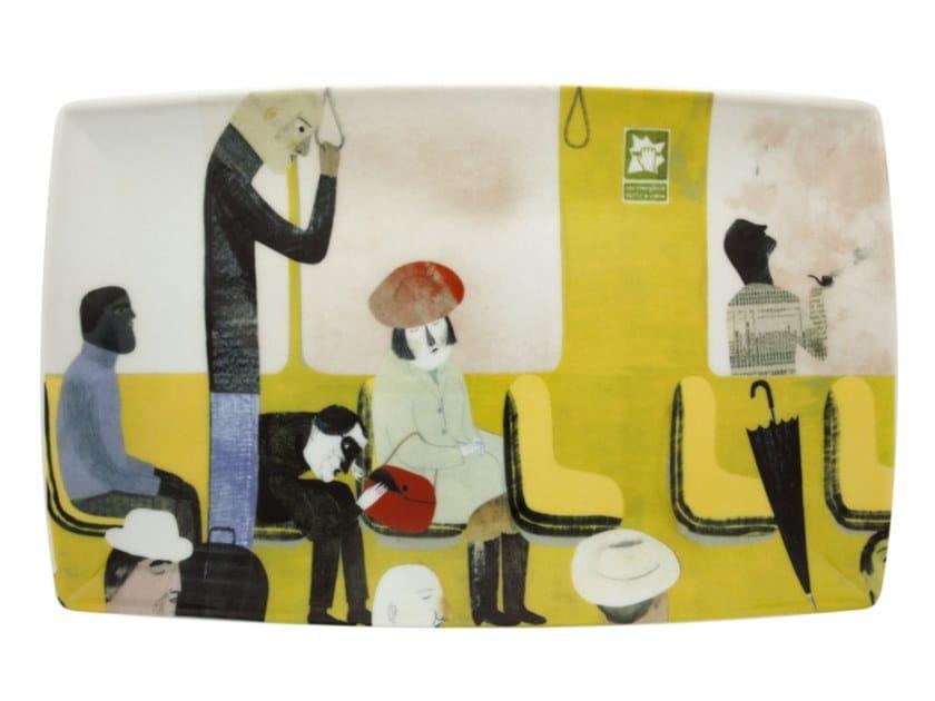 Porcelain plate 2i - by Valerio Vidali by Vista Alegre