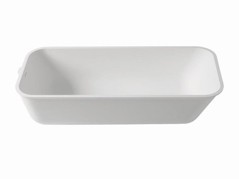 Rectangular built-in Krion® bathtub 3-WAY | Bathtub by Systempool