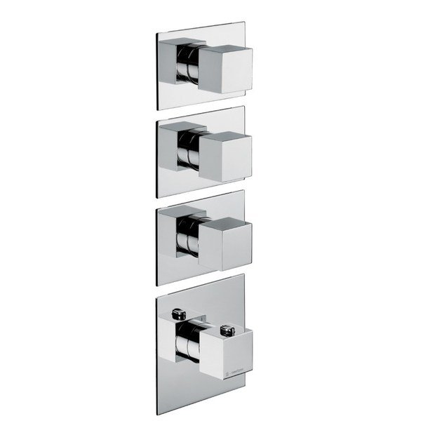 Thermostatic thermostatic shower mixer 3-WAY OUT THERMOSTATIC SELECTORS | Thermostatic shower mixer by newform