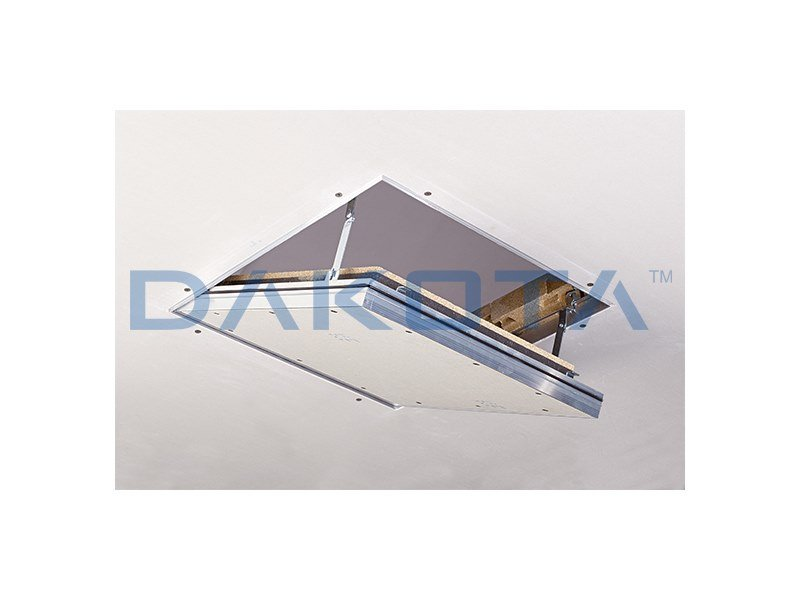 Fireproof inspection chamber for suspended ceiling ALUPROTECT F30/EI30 by Dakota