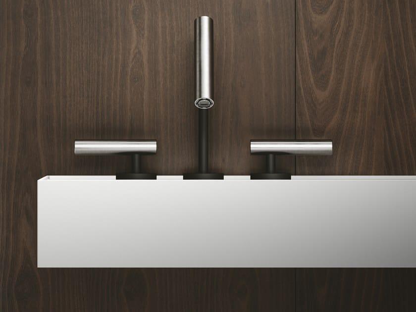CILINDRO | Robinet pour lavabo 3 trous