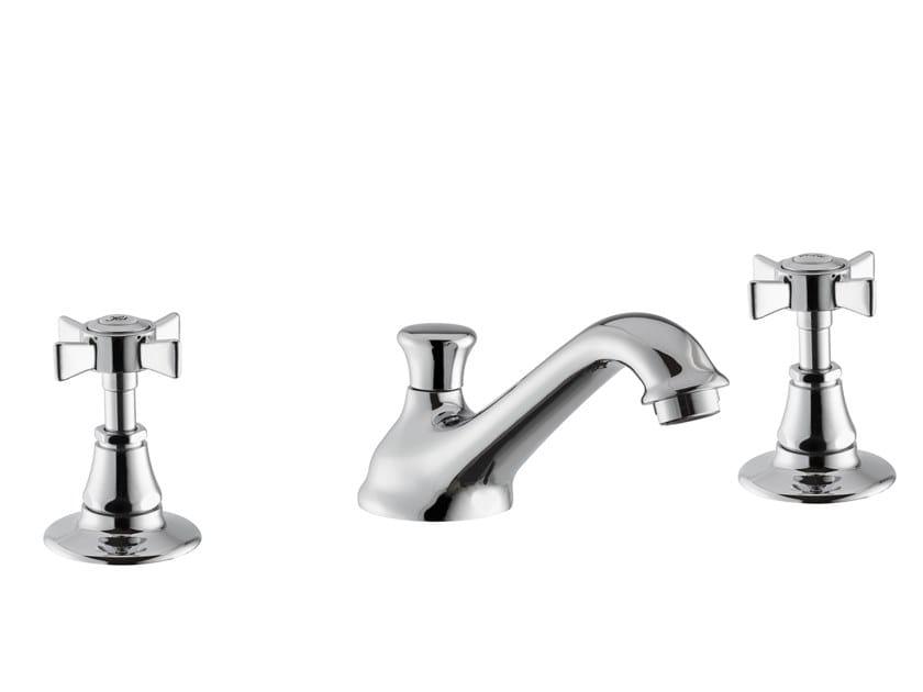 3 hole countertop washbasin tap DAYTIME | 3 hole washbasin tap by newform