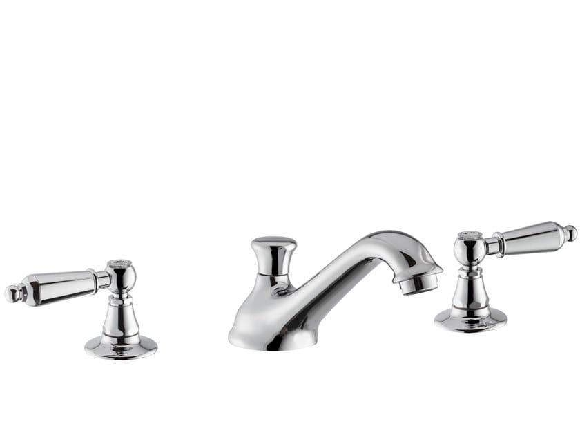 3 hole countertop washbasin tap DAYTIME STYLE | 3 hole washbasin tap by newform