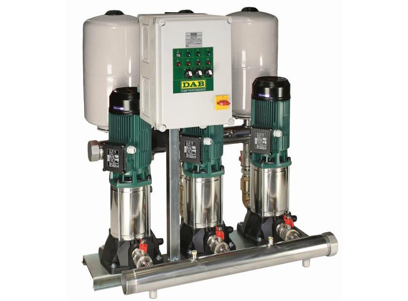 Gruppi di sollevamento con 1/2/3 pompe centrifughe 3 KVC by Dab Pumps