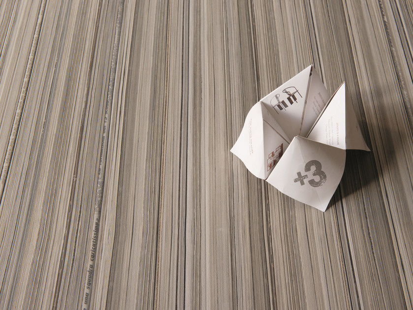 Indoor/outdoor porcelain stoneware wall/floor tiles +3 PAPER BIANCO by Viva by Emilgroup