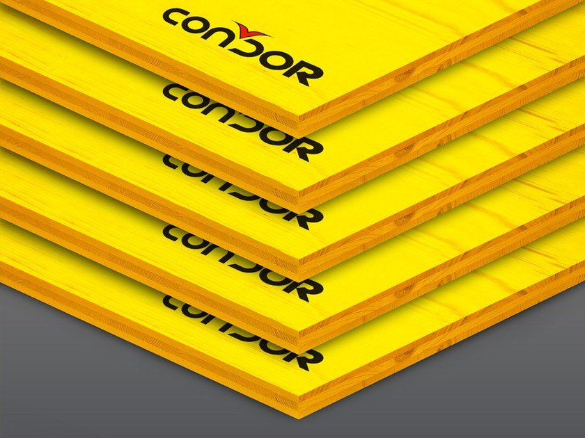 In situ concrete loadbearing masonry system 3-ply panel by Condor