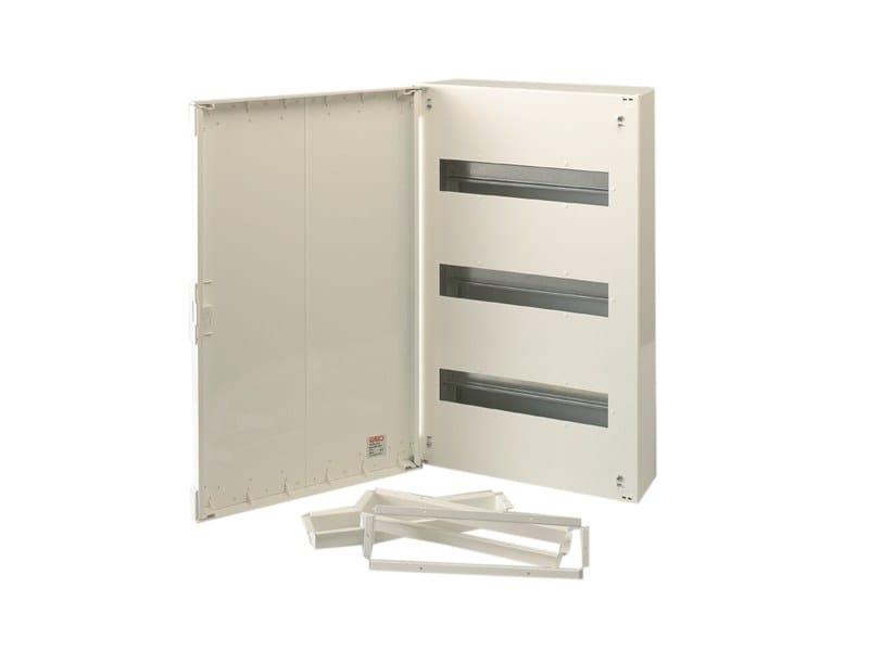 Metal distribution board 3 ROW 42 MOD DIST BOARD 335X550X111 by Garo
