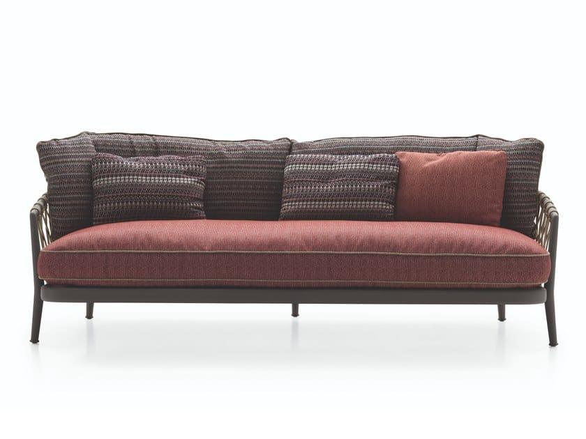 3 seater fabric garden sofa ERICA '19   3 seater garden sofa by B&B Italia Outdoor