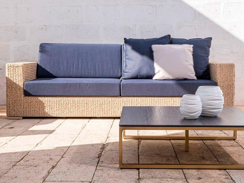 3 seater garden sofa BERENICE | 3 seater garden sofa by Braid