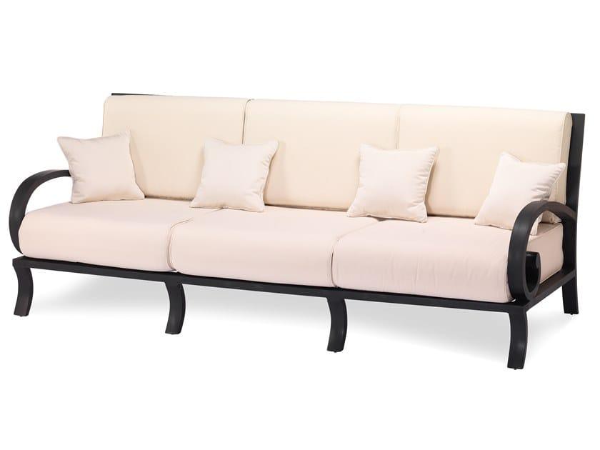 3 seater aluminium garden sofa CENTURIAN | 3 seater garden sofa by Oxley's Furniture
