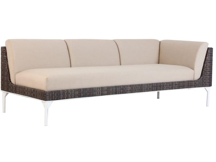 3 seater metal garden sofa TIIVIS | 3 seater sofa by ALANKARAM