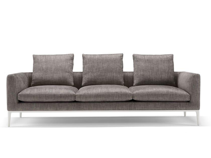 3 Seater Fabric Sofa Leonard