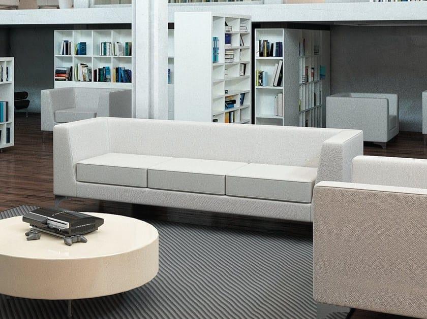 3 seater polyurethane sofa KENTUCKY | 3 seater sofa by AP Factor
