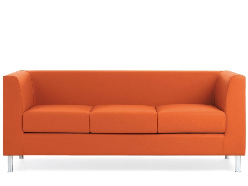 3 seater sofa DOMINO | 3 seater sofa by Emmegi