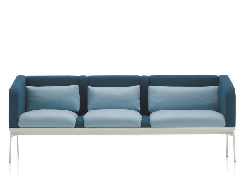 3 seater sofa METRO | 3 seater sofa by Emmegi