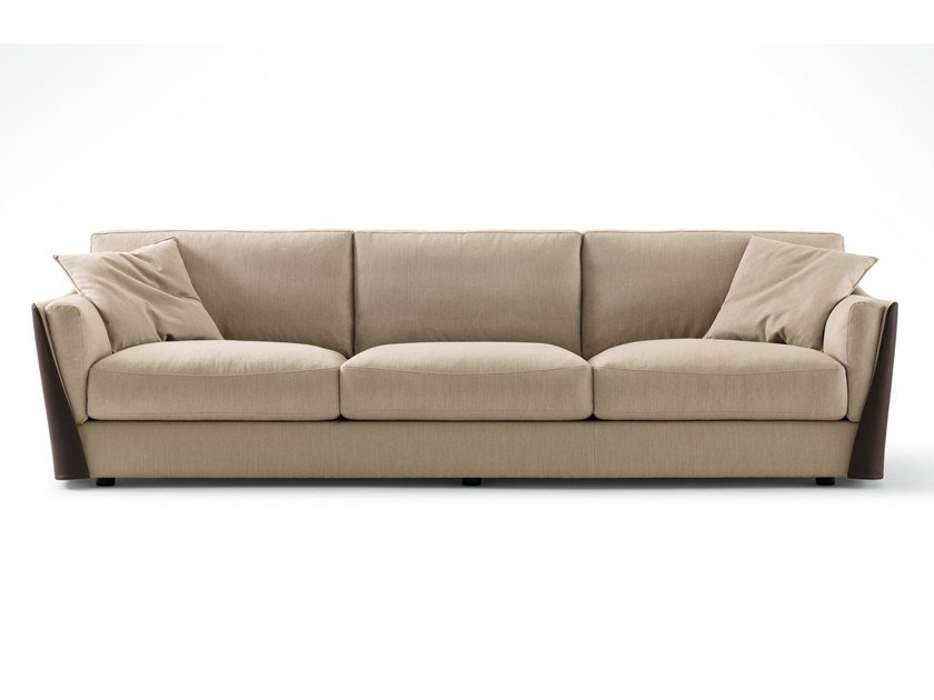 3 seater fabric sofa with removable cover VITTORIA | 3 seater sofa by GIORGETTI