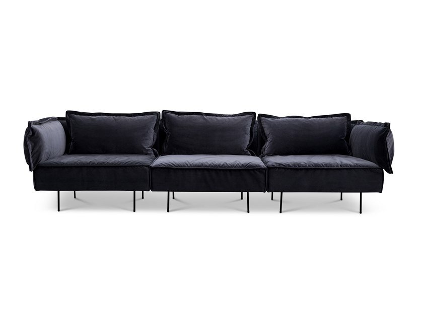3 seater velvet sofa 3 seater sofa by Handvärk
