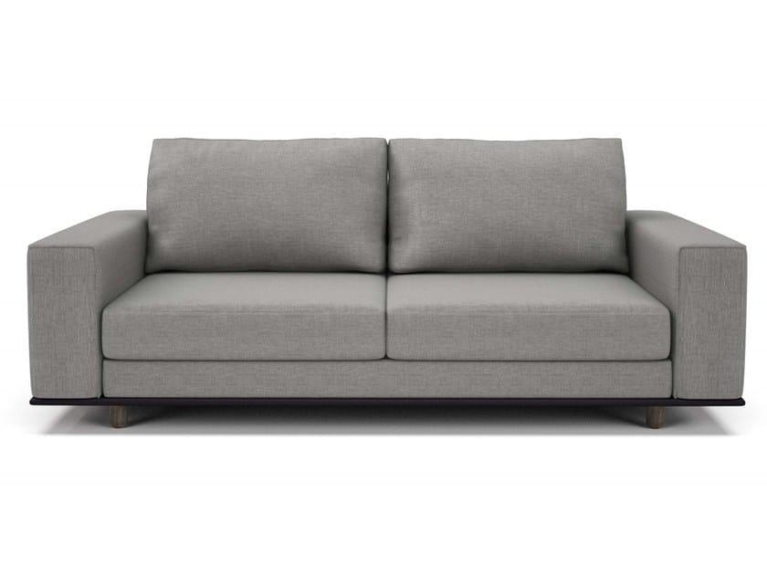 3 seater fabric sofa EDITION   3 seater sofa by Huppé