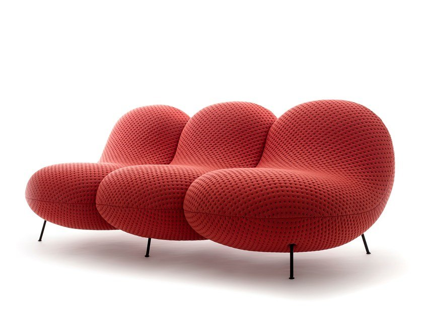 3 seater fabric sofa BABABA | 3 seater sofa by jot.jot