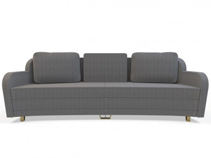 3 seater fabric sofa WING | 3 seater sofa by MARIONI