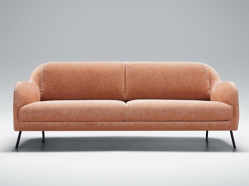 3 seater velvet sofa KARIN | 3 seater sofa by Sits