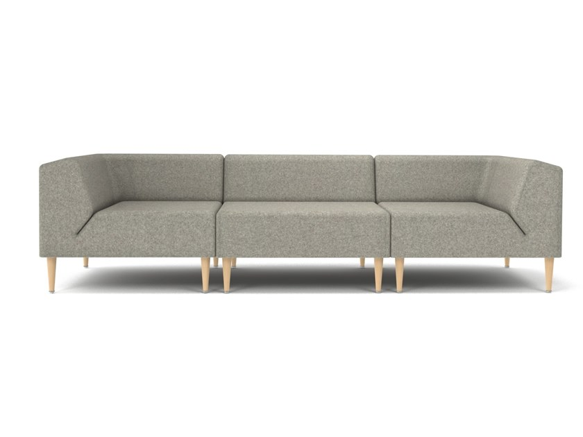 Sectional 3 seater fabric sofa MOOD | 3 seater sofa by OOT OOT