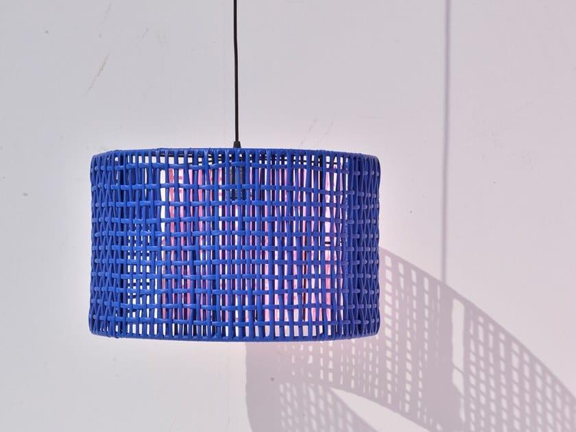 Lampada a sospensione fatta a mano in PVC 30 - 70 LAMP by Tucurinca
