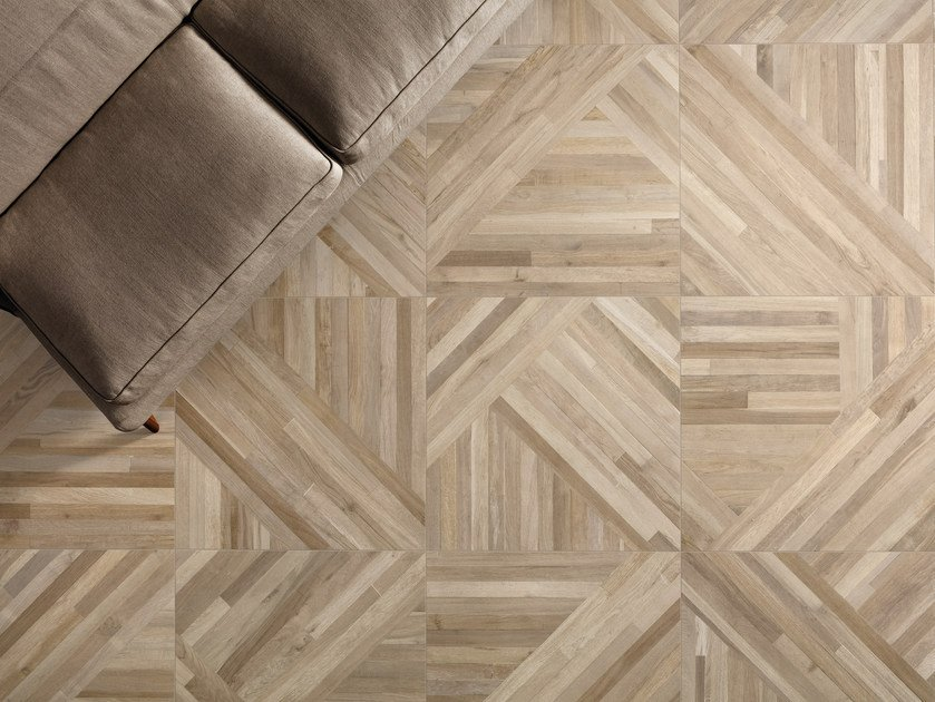 Porcelain Stoneware Wall Floor Tiles With Wood Effect 300