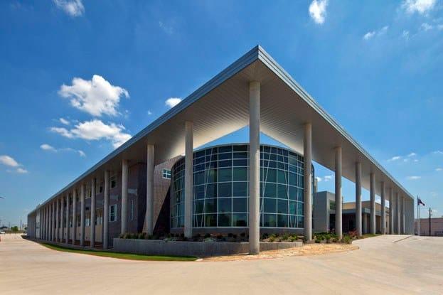 Metal ceiling tiles 300 C/L by HunterDouglas Architectural