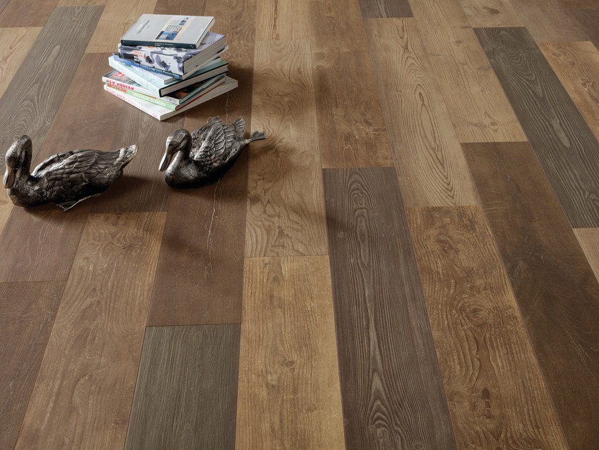 Porcelain Stoneware Wallfloor Tiles With Wood Effect 300 Essenze