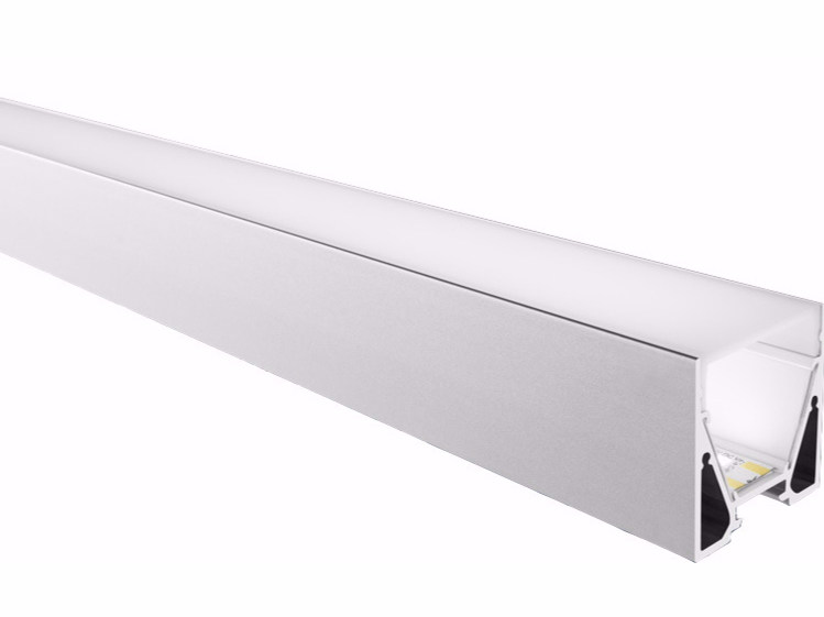Ceiling mounted aluminium Linear lighting profile for LED modules 3030 by GLIP by S.I.L.E
