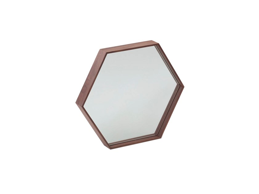 Framed wall-mounted mirror 3039 | Mirror by Angel Cerdá