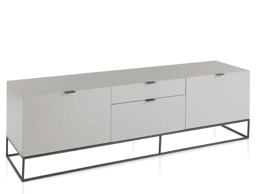 Lacquered MDF TV cabinet with drawers 3041   TV cabinet by Angel Cerdá