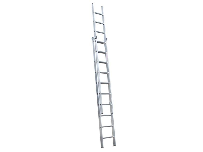 Aluminium heavy duty ladder 3046 by Frigerio Carpenterie