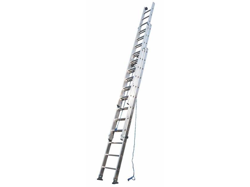 Aluminium heavy duty ladder 3060 by Frigerio Carpenterie