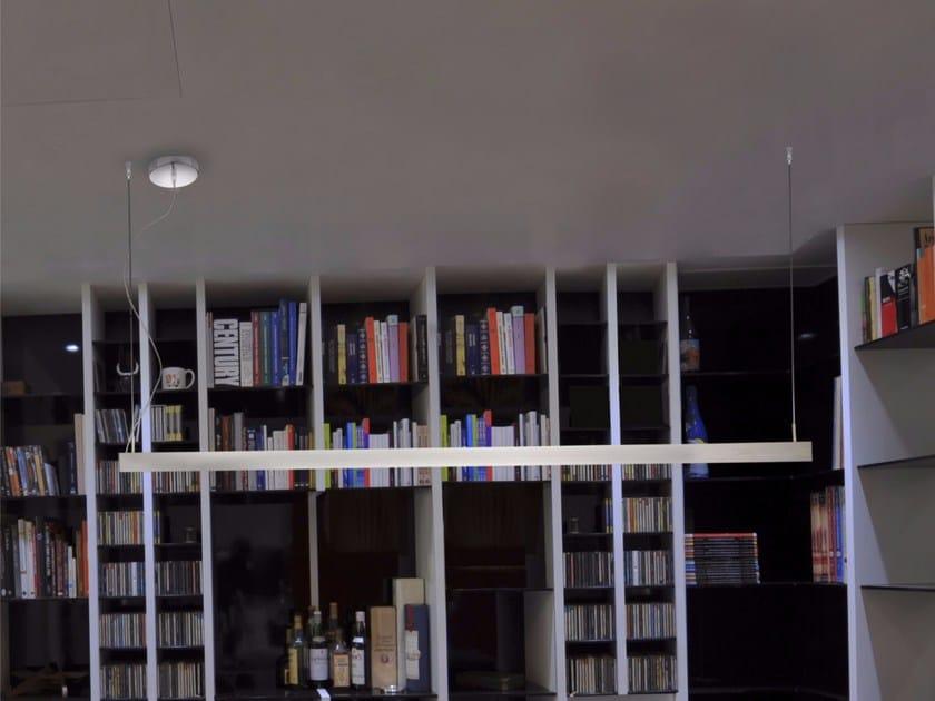 Lampada a sospensione a LED a luce diretta in alluminio 3060 | Lampada a sospensione by GLIP by S.I.L.E