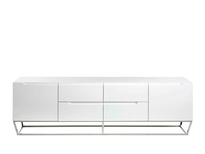 Lacquered MDF TV cabinet with drawers 3105 | TV cabinet by Angel Cerdá