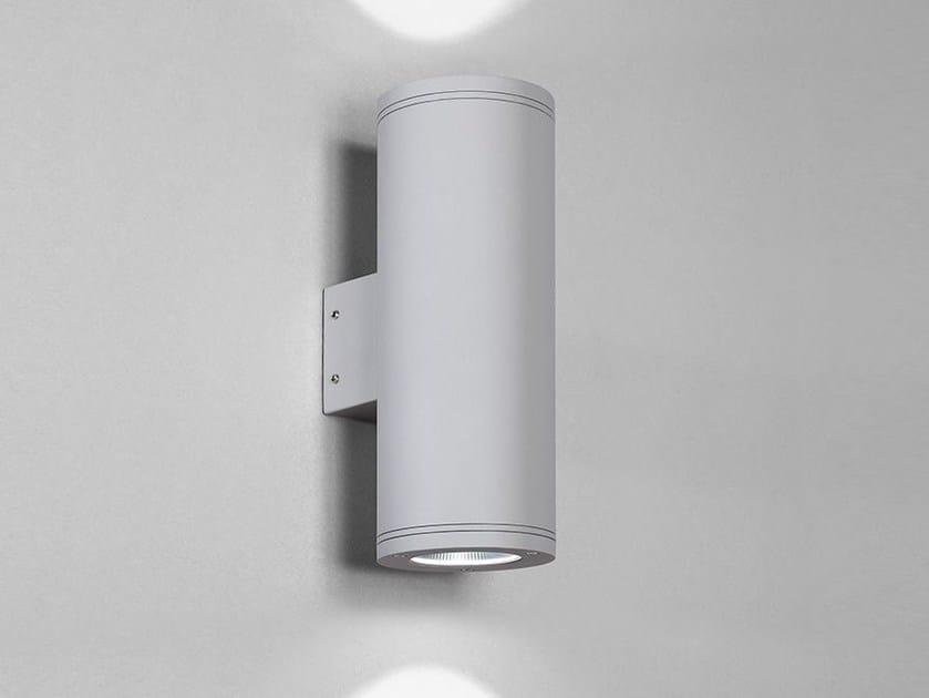 Applique per esterno a led in alluminio nobile italia