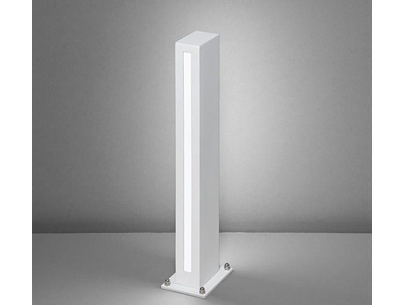 LED aluminium bollard light 31220 by NOBILE ITALIA
