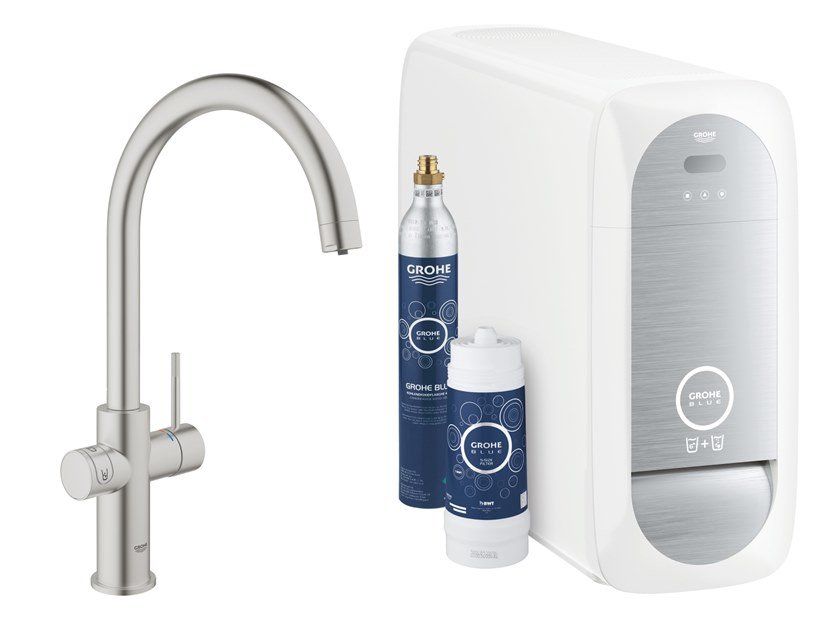 Kitchen tap / water dispenser BLUE HOME 31455DC1 by Grohe